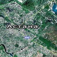 Спутниковая карта астаны google map